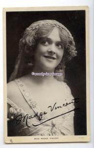 b5964 - Stage Actress - Madge Vincent, Celeb.of Stage, No.T.673  Tuck's postcard
