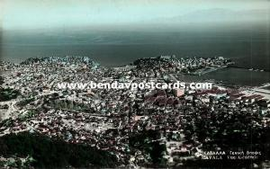 greece, KAVALA, General View (1950s) RPPC
