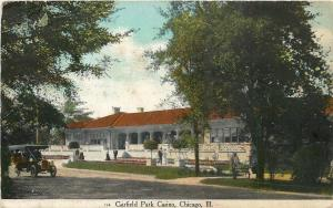 Chicago Illinois~Garfield Park Casino~Vintage Car~1909 Postcard