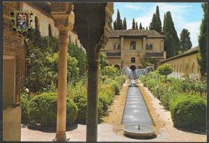 Spain, Granada (Andalucia) Acequia Court, mailed