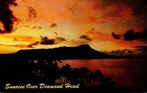 Hawaii Waikiki Sunrise Over Diamond Head