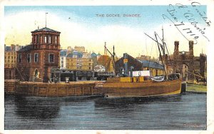 The Docks Dundee Scotland, UK Postal used unknown