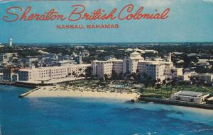 The Sheraton-British Colonial Hotel, Nassau, Bahamas, PU-40-60s