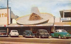 Tijuana Mexico~El Sombrero~Big Hat Curio Shop~NICE 1940-50s Cars~5 State LPs