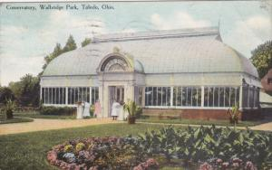 TOLEDO, Ohio, PU-1910; Conservatory, Walbridge Park