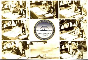 Battleship Missouri Memorial Photos Taken During Surrender Ceremony