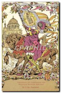 Postcard Old Gedenkenis van der Jubelfeesten Hanswyck Mechelen 988 1913 Anlan...