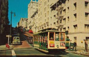 California San Francisco Famous Cable Car #501