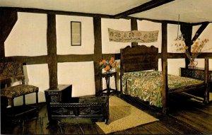England Stratford Upon Avon Shakespeare's Birthplace The Birthroom