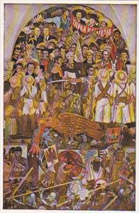 Diego Rivera The Independence War Of Mexico Palacio Nacional De Mexico