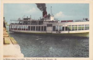 Le Bateau Passeur Laviolette- Ferry, TROIS RIVIERES, Quebec, Canada, 1910-1920s