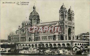 Modern Postcard Marseille La Cathedrale