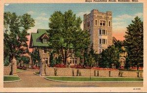 Minnesota Rochester Mayo Foundation House Curteich