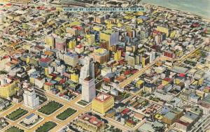 Postcard Aerial View of St Louis Missouri