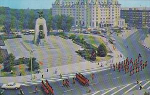 Canada Elevated View Of Confederation Square Ottawa Ontario