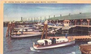 California Long Beach United States Navy Landing