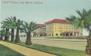 LONG BEACH , California, 1900-10s ; Hotel Virinia