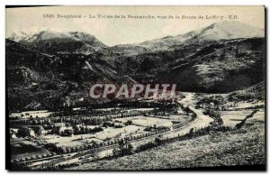 Old Postcard Dauphine Romanche Valley to Route Laffrey