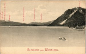 CPA AK Walchensee- Panorama GERMANY (1007194)
