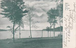 Saratoga Lake, SARATOGA SPRINGS, New York, PU-1908