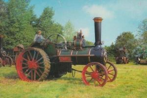 Burrell Traction Engine Fearless Thursford Norfolk Steam Wagon Engine Postcard