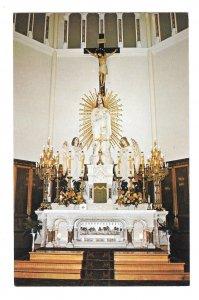 Eglise Ste Marie Main Altar St Mary's Church Point Nova Scotia Canada