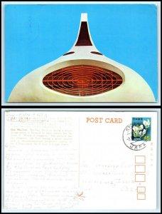 JAPAN Postcard - The Gas Pavilion AU