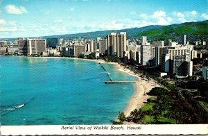 Hawaii Waikiki Beach Aerial View