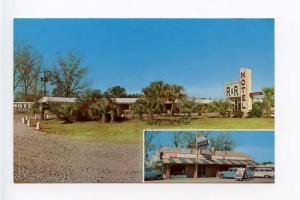 Nahunta GA Drive-in Food Motel Old Cars Postcard