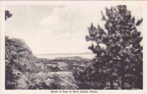 Maine Orrs Island The Break Of Day Albertype