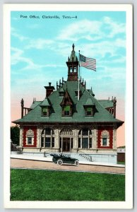 Clarksville Tennessee~Post Office~Stick Queen Anne Italianate Architecture~1920s