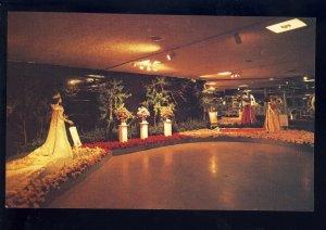 Tyler, Texas/TX Postcard, Rose Festival Show, Previous Queen Gowns