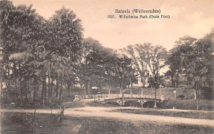 Wilhelmina Park Oude Fort Batavia Indonesia, Republik Indonesia Unused