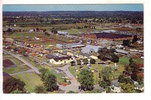 Bird's Eye View, Annual Fair, Belleville, Ontario, HR Oakman Peterborough Pos...