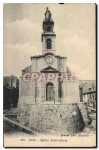 Old Postcard The Church Saint Louis