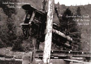 OR - Toledo. Train Wreck, U.S. Spruce Division  (5.75 X 4 Photo Reprint)