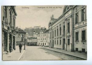 138362 Austria SALZBURG Street theater GUSTAV STUBOCK Signboar
