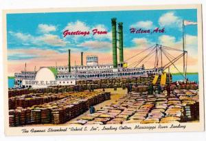 Steamboat Robert E Lee, Mississippi River, Helena Ark