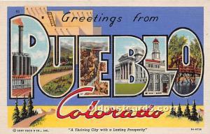 Pueblo, Colorado, CO, USA Unused