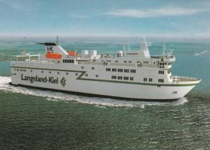Langeland-Kiel , MS Langeland III, 60-90s