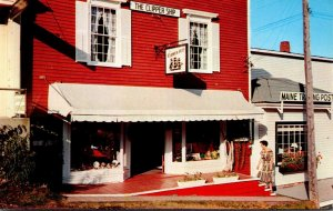 Maine Boothbay Harbor The Clipper Ship Gift Shop