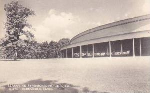 Massachusetts Berkshire Symphonic Music Shed in The Berkshires 1960
