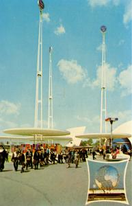 NY - New York World's Fair, 1964-65. Westinghouse Time Capsule
