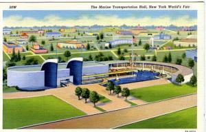 NY - 1939 World's Fair, The Marine Transportation Hall