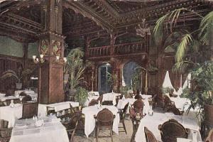 Pennsylvania Philadelphia Hotel Walton Palm Room Interior Dining Room 1910
