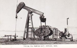 RP: ESTEVAN , Saskatchewan , Canada , 40s ; Oil Pump Unit