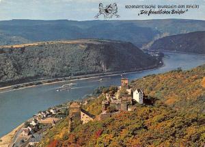 Kamp Bornhofen am Rhein Die feindlichen Brueder Castle River Boats