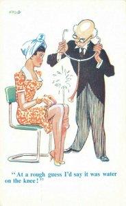 Comic Postcard Garland, Rudolf & Co. W125, Seaside Joke, Humour KM4