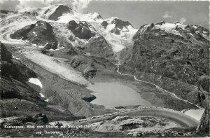Europe Switzerland Postcard Sustenpass mountain road