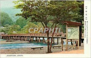 Old Postcard Arasiyama Kyoto